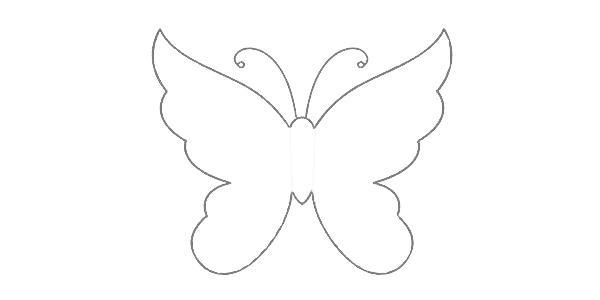 Handmade Butterflies Decorations On Walls, Paper Craft Ideas