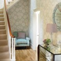 modern home fabrics in pastel colors, furniture upholstery, curtains, bedding, cushions