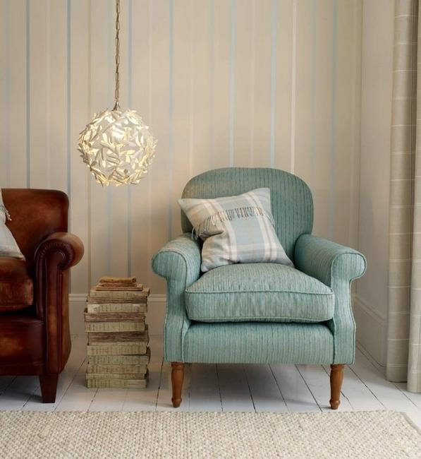 Modern Interior Decorating With Home Fabrics In Light