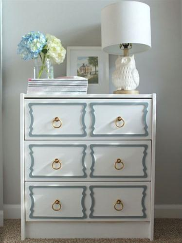 Beautiful bedroom decorating ideas with hand painted furniture designs for Refinishing bedroom furniture ideas