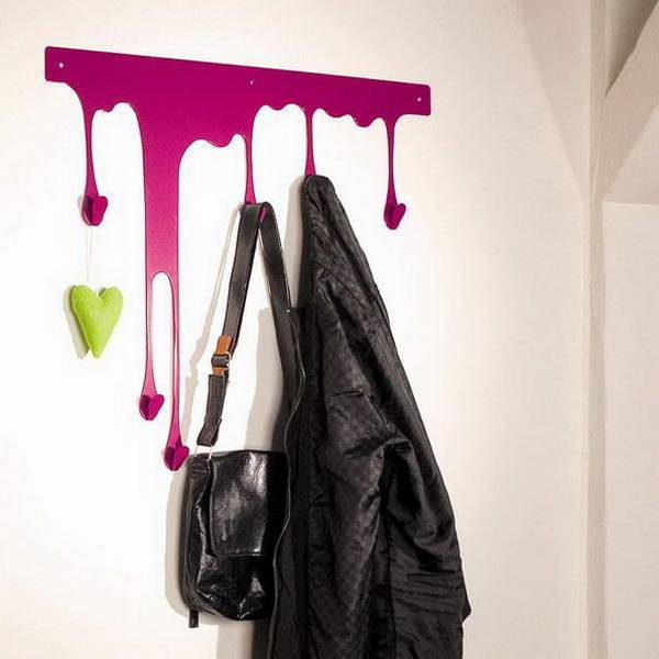 22 Unusual Wall Hooks And Clothes Hangers Offering