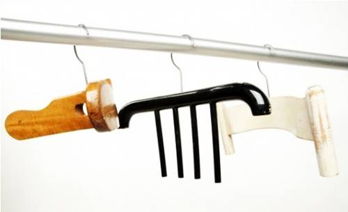 Unusual Wall Hooks 22 unusual wall hooks and clothes hangers offering creative wall