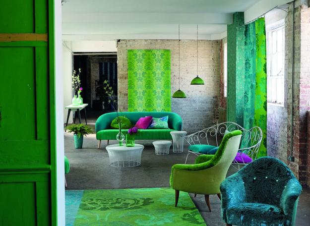 Modern Wallpaper And Home Fabrics Inspired By Central