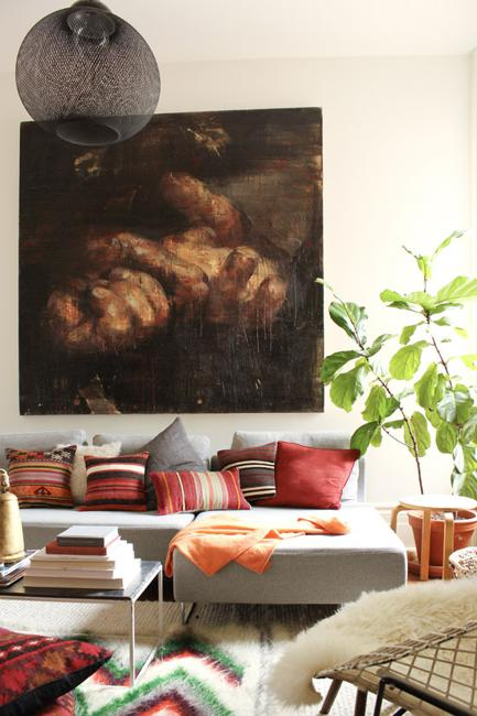 Bohemian Decor Ideas Adding Chic And Color To Small Living