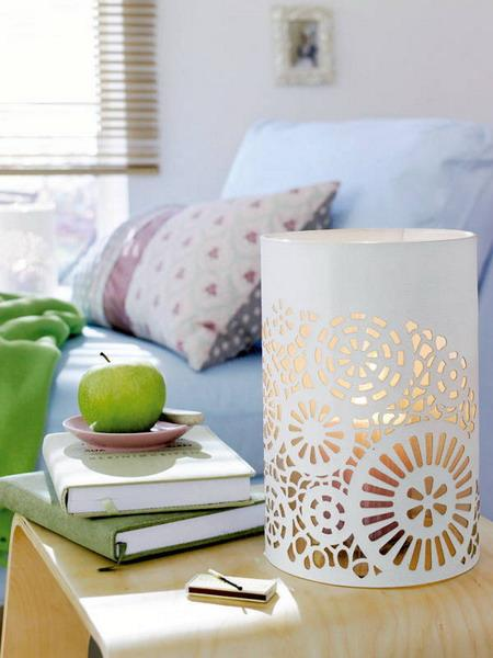 modern home decor ideas with lace fabrics and patterns