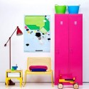 bright room colors, interior decorating in 80s style