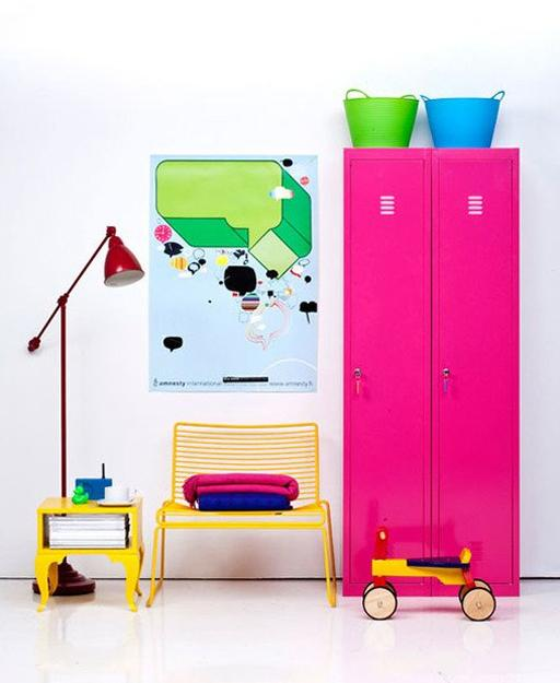 25 ideas for modern interior decorating with bright neon colors. Black Bedroom Furniture Sets. Home Design Ideas