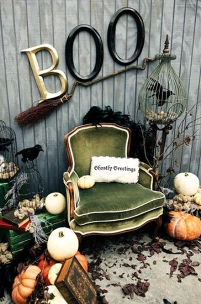 Simple And Unique Black And White Ideas For Halloween