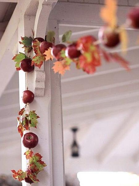 45 modern ideas for eco friendly home decorating with apples for Apple home decoration
