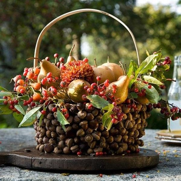 25 fall flower arrangements thanksgiving table - Herbstdekoration 2018 ...