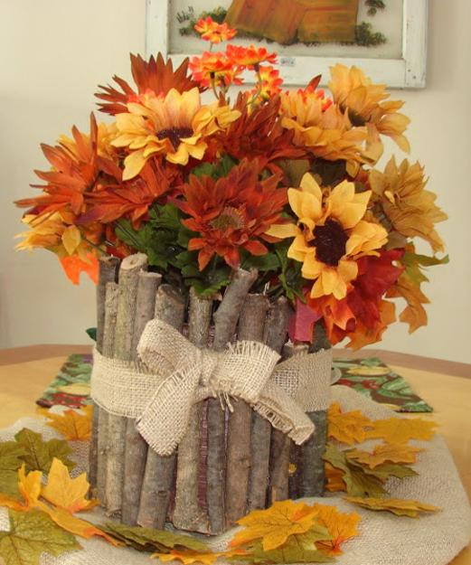 25 Fall Flower Arrangements, Thanksgiving Table