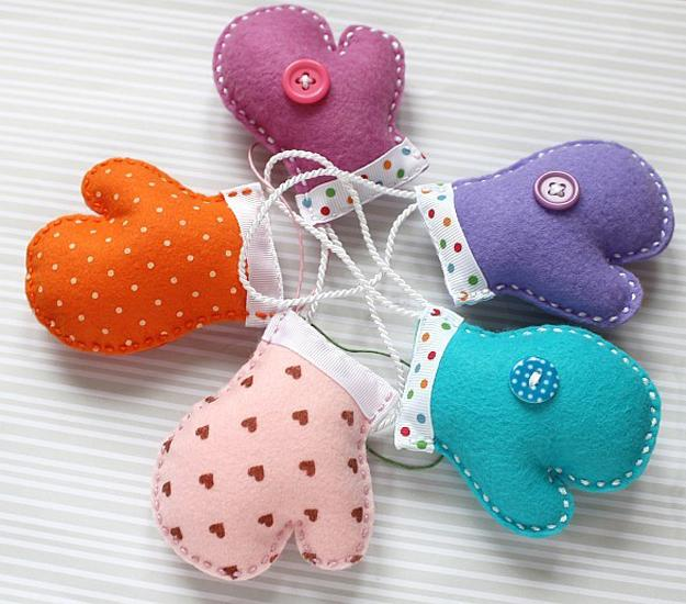 Cute Handmade Felt Decorations 25 Simple And Eco Friendly Craft Ideas