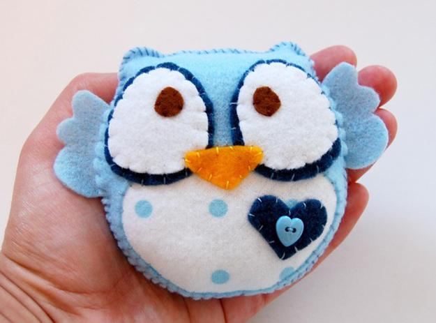 Cute Handmade Felt Decorations 25 Simple And Eco Friendly