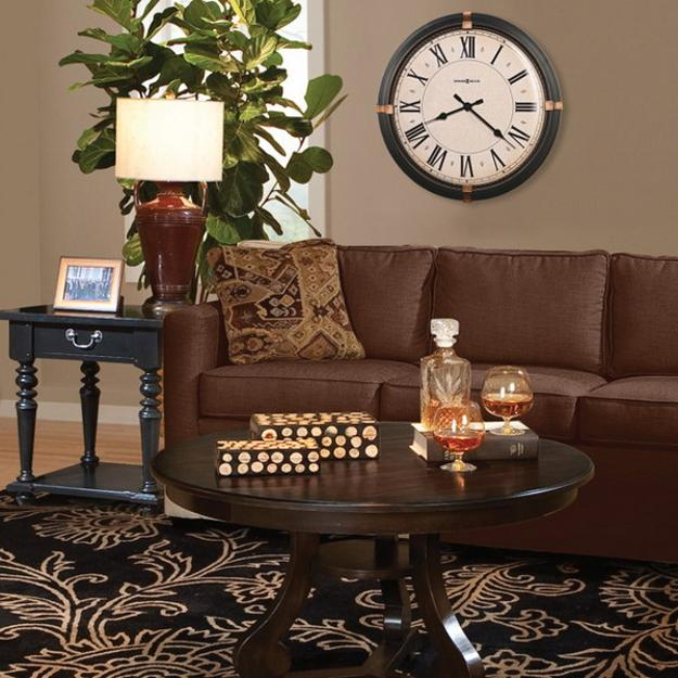 Black Clocks For Living Room