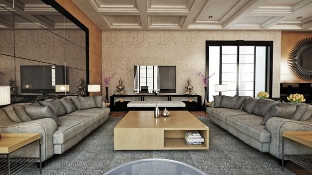 Rich interior decorating ideas creating luxurious modern - Home interior decoration ideas ...