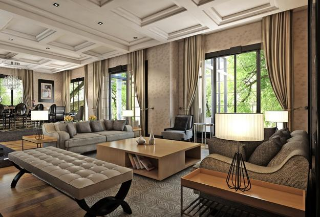 Rich interior decorating ideas creating luxurious modern for Modern eclectic decor