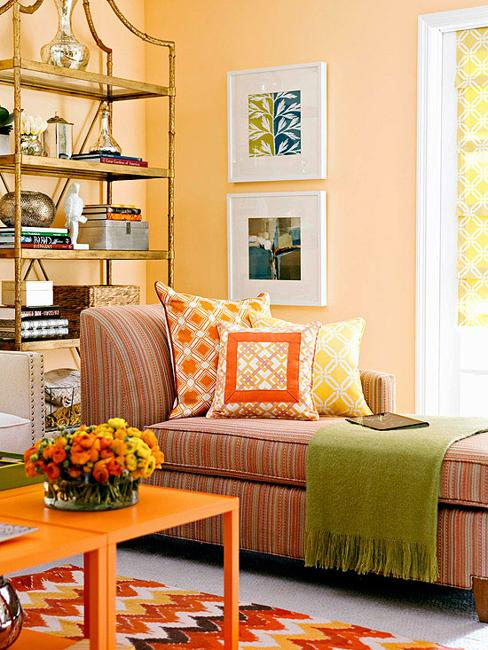 colorful interior decorating and color design ideas
