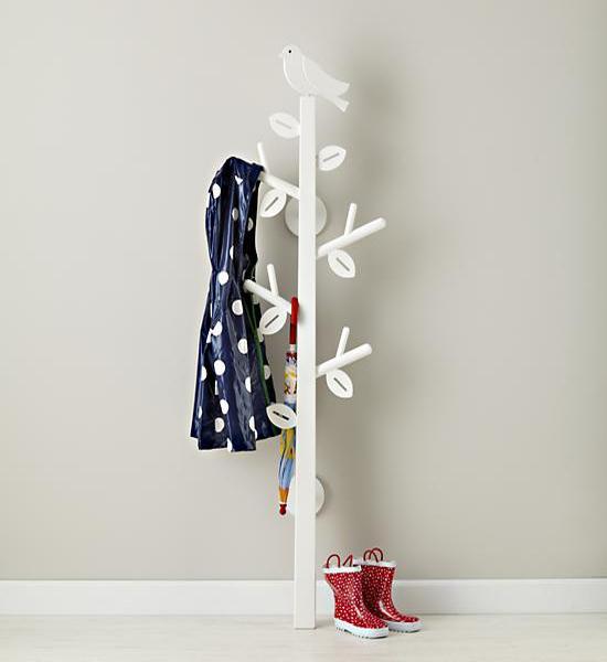 Tree Coat Racks Adding Creative Kids Designs To Interior Decorating In Eco Style