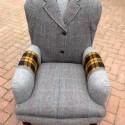handmade chairs recycling wool coats