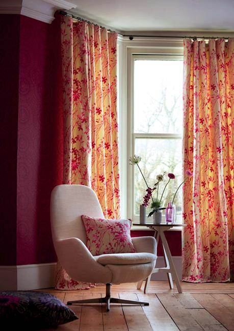 Beautiful Wallpapers And Home Fabrics Adding Colorful