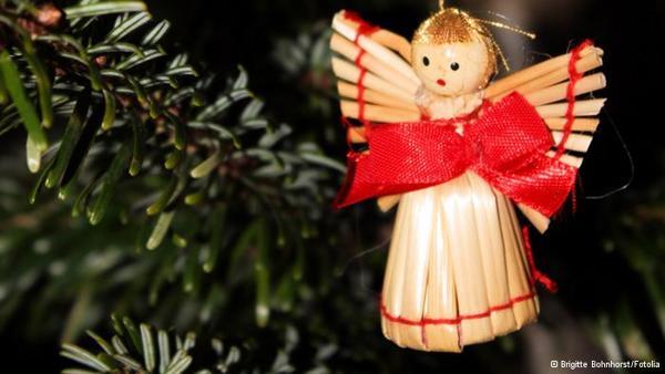 Upside Down Christmas Tree And Traditional Holiday