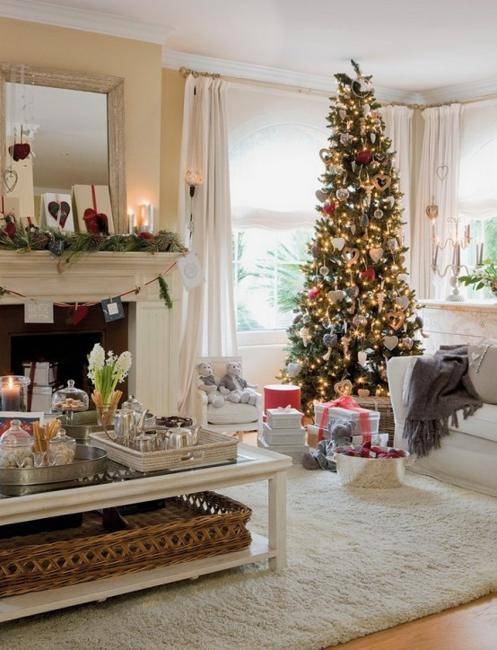 12 Picturesque Small Living Room Design: Merry Christmas Decorating Ideas For Living Rooms And