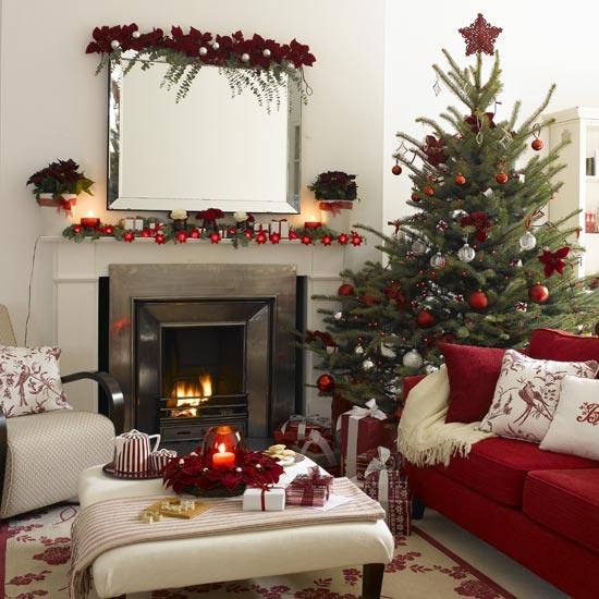 christmas decorated living rooms ideas merry decorating ideas for living rooms and 22733