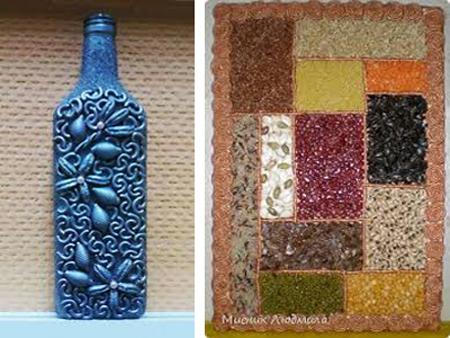 Recycle for crafts cheap kitchen decorating ideas