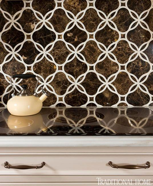 Modern Kitchen Wallpaper Texture simple decorative patterns and neutral colors blended into cozy