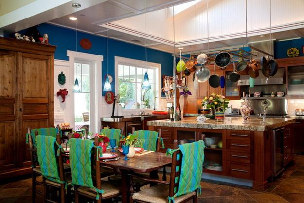 Artists Home Decorating Ideas Blending Colorful Decor into