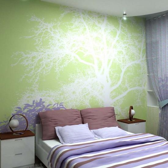 Modern bedroom colors for harmonious room decorating for Passionate bedroom designs