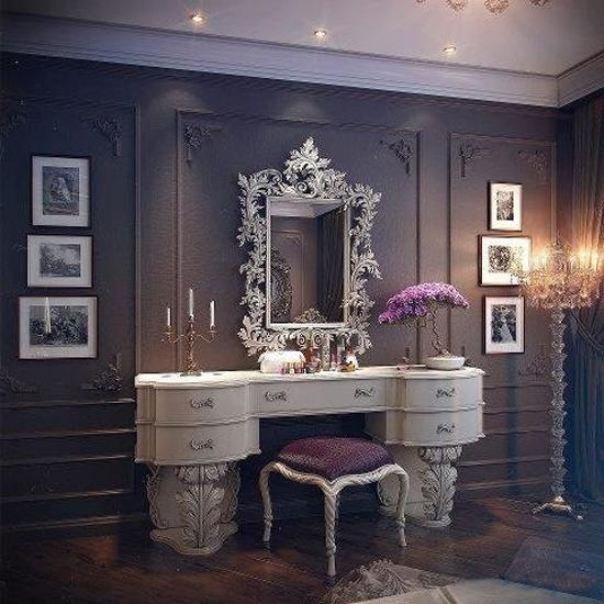 More Inspiring Ideas For Dressing Room Decorating In Vintage Style