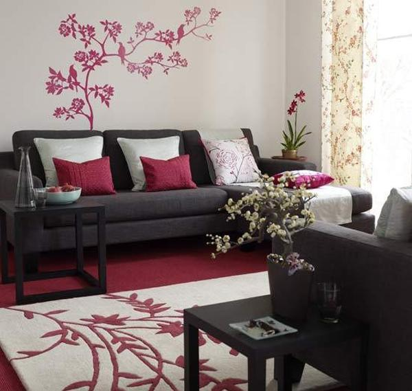 Asian interior decorating inspires modern ideas for Asian decor living room