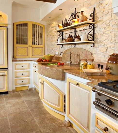 Home Decor Kitchen Ideas: 20 Modern Kitchens And French Country Home Decorating