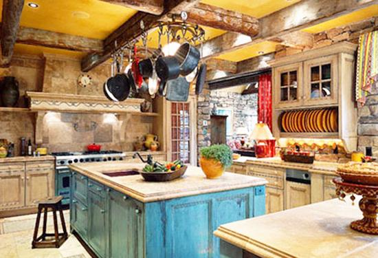 Kitchens And French Country Home Decorating Ideas In Provencal Style