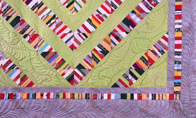 Colorful Contemporary Quilts with Unique Striped Patchwork Designs : unique quilt designs - Adamdwight.com