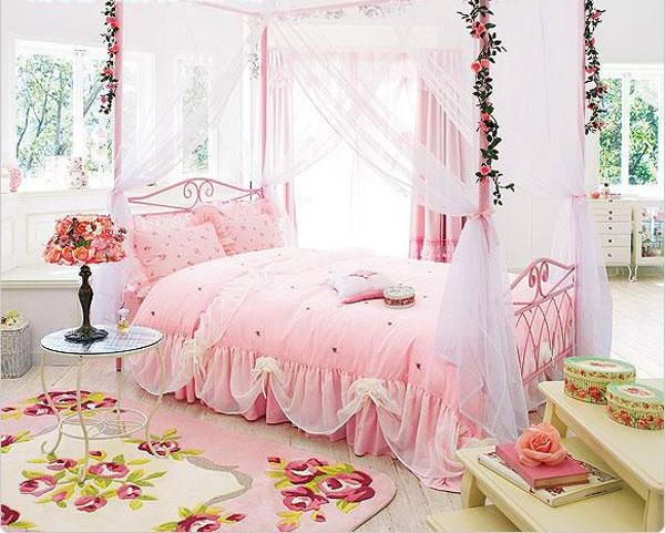 Beautiful Girls Rooms 15 beautiful girls bedroom decorating ideas and room colors