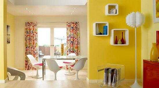 20 Interior Decorating Ideas To Bring Yellow Color And Sunny Look Into Room Decor