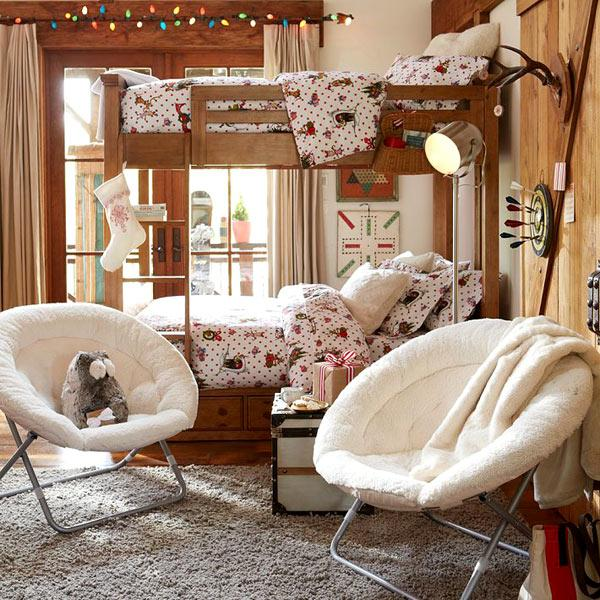 Kids Room Furniture: 30 Cozy Ideas For Modern Home Decorating With Papasan Chairs