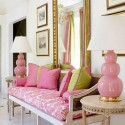 pink room colors and interior color schemes for home decorating