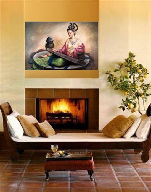 20 Oriental Interior Decorating Ideas To Create Exotic