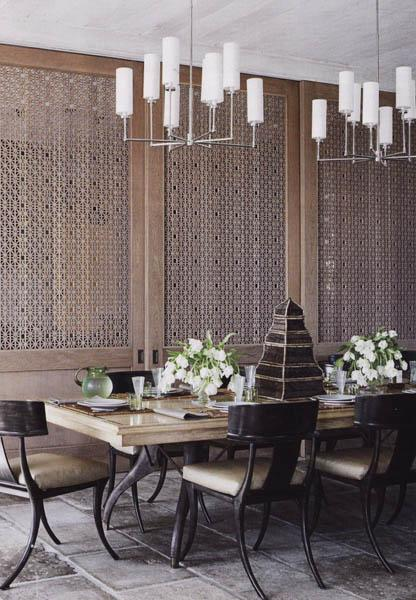 Modern Asian Interior With Natural Materials: 20 Oriental Interior Decorating Ideas To Create Exotic