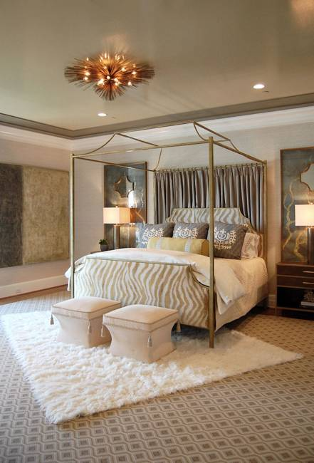 Romantic Cozy Bedroom: Canopy Bed Designs Adding Romance To Modern Bedroom