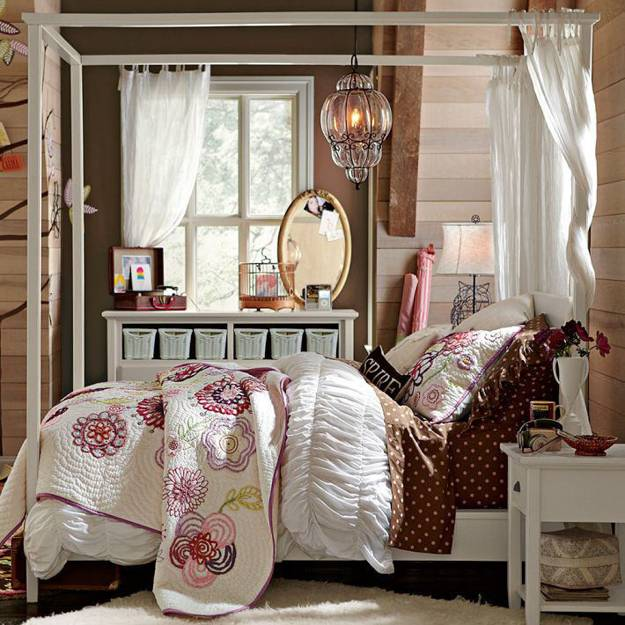 canopy bed designs adding romance to modern bedroom