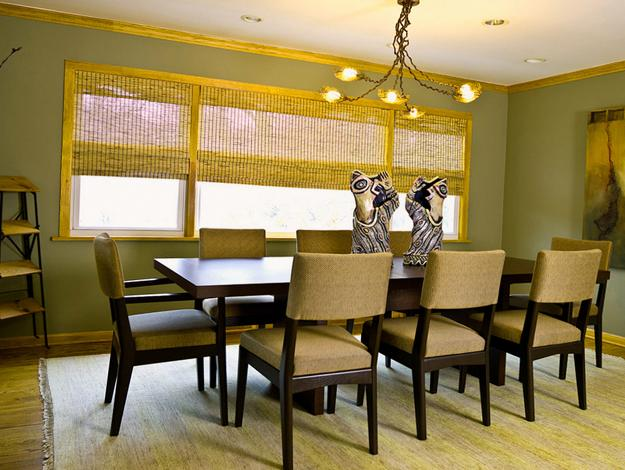 Modern Window Treatments 20 Dining Room Decorating Ideas
