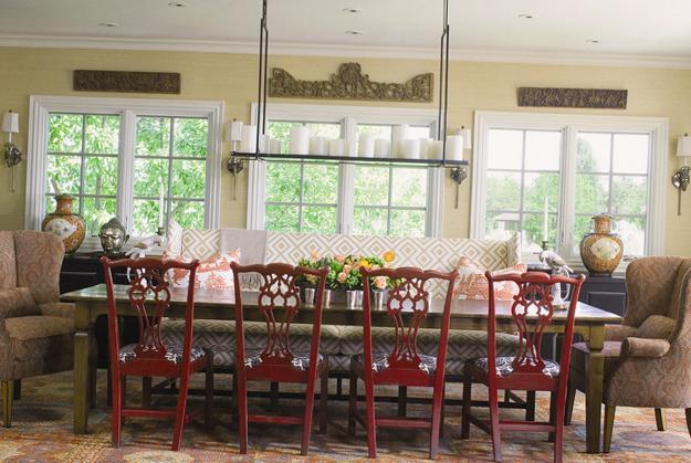 Modern Window Treatments 20 Dining Room Decorating Ideas