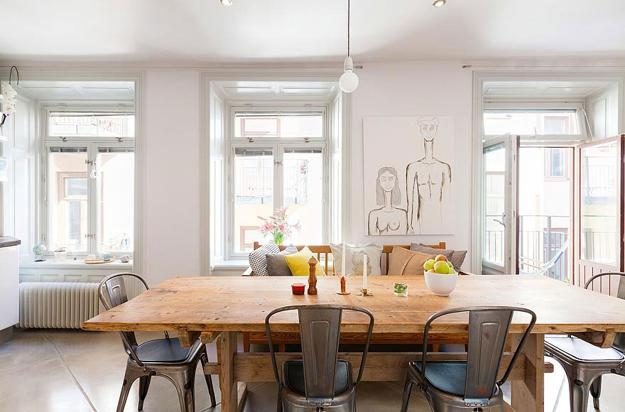Modern Window Treatments, 20 Dining Room Decorating Ideas