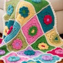 knitting and crochet patterns, decorative pillows and throws for home decorating