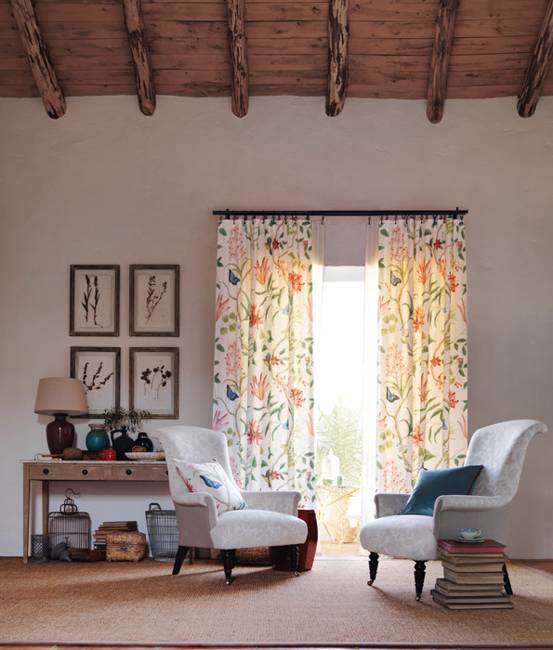 Beautiful home fabrics and modern wallpaper patterns for Modern home decor fabric prints