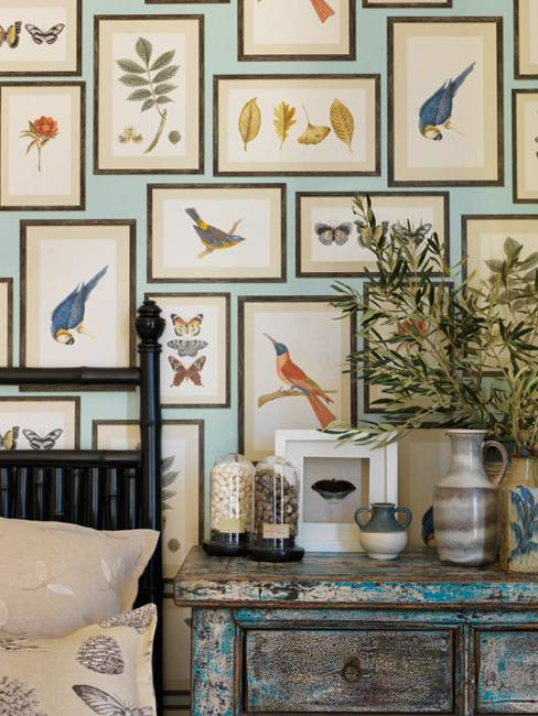 Beautiful home fabrics and modern wallpaper patterns for Wallpaper home fabrics